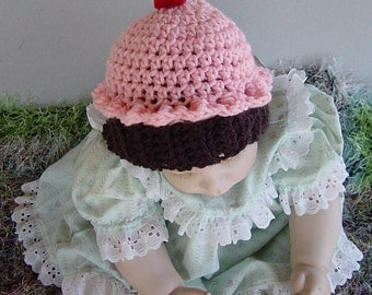 Toddler Baby Girl Cupcake Hat