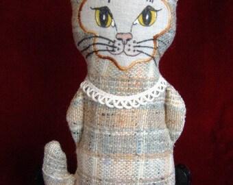 No. 6  Miss Lydia Kittia, A Basic Kitty Cat Doll