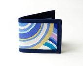 Blue Rings Billfold Wallet