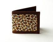 CLEARANCE - 50% OFF - Cheetah Billfold Wallet