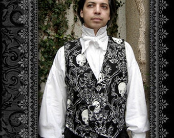 White Regency Neck Cravat by Kambriel - Brand New & Ready to Ship!