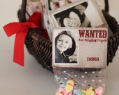 Valentine's Day Photo Treat Bag Toppers Card