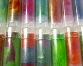 10 Recycled Crayons - Rainbow Crayon Travel Tubes (10 Recycled Crayon Travel Tubes)