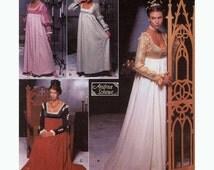 Renaissance gown wedding dress sewing pattern Simplicity 9531