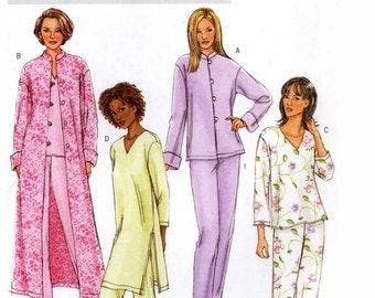 Womens Jacket top tunic and pants sewing pattern Butterick 4406 Bust 38 to 44