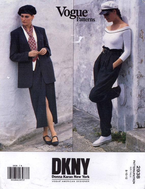 Image result for vogue 2938 dkny
