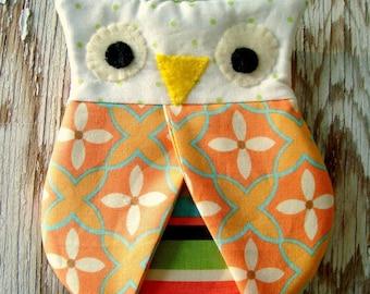 Owl Hotpad Pincher Hot pad pattern