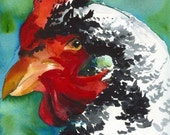 Rooster archival print