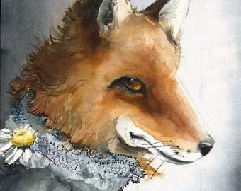 Mae - Fox Art