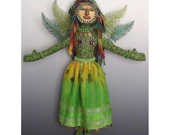 Forest Angel Art Doll