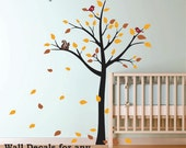Nursery Tree Wall Decals Kids Wall Decals removable decals