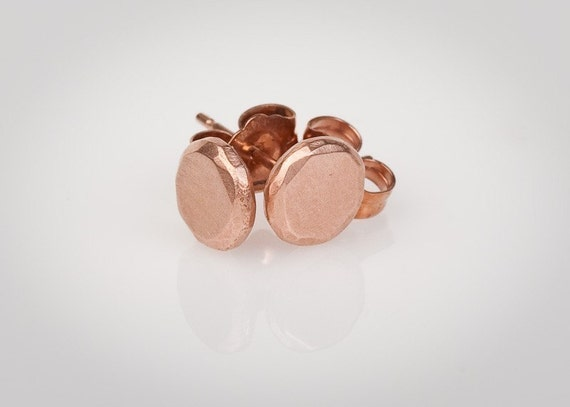 14k Rose Gold Stud Earrings 14k Rose Gold Stud Earrings
