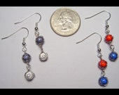 4mm Linked Materia Earrings, Made to Order