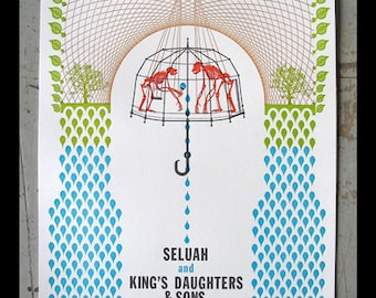 KD & S / Seluah show poster