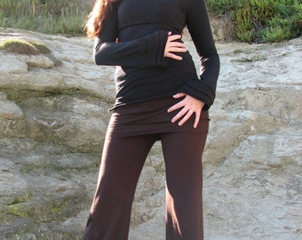 Herban Devi Women Yoga Pant, custom clothing, organic yoga pants petite and plus sizes