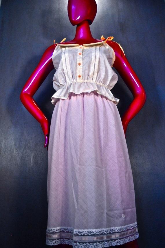 Reserved for Elizabeth - Christian Dior Vintage Pink Slip Small/Medium/Large