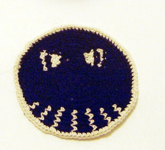 Skull smiley sew on patch in black