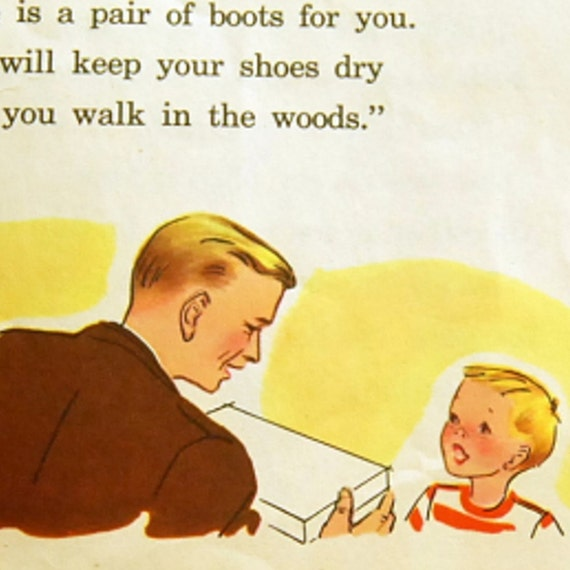 1950s Childrens Reader, Fields and Fences, Childrens Book