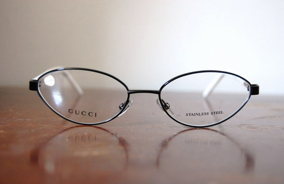 Vintage Authentic GUCCI GG 2742 Cat Eye Eyeglass Frames with Case