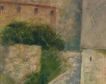 Sartene, Corsica, Original Painting