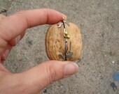The Innocence I've Known - Walnut Treasure Box and Pendant