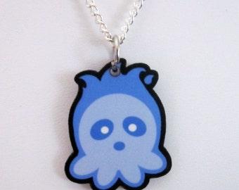 Octodama Octopus Hitodama Spirit Pendant
