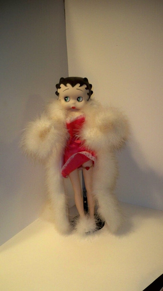 Reserved for Debra:Betty Boop Doll 1984 Vintage King Features Collectible Doll