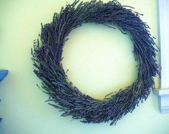 Dried Lavender Wreath Perfect for Weddings, Home Decor or Housewarming Celebrations