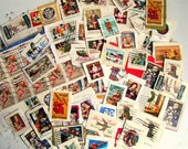 RESERVED FOR WENDY. Vintage Cancelled Christmas Stamps. 100