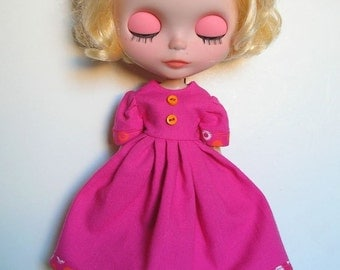 Blythe dress Call me the pink princess