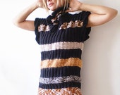 Knitted Sweatervest / Tunic