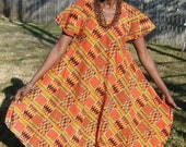 Kente Cloth Dress