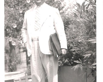 Vintage Original Photo from 1941 - Dapper Man