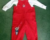 Vintage  Toddler Boys Pants and turtleneck Shirt sz 18 months