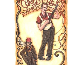 Curtis Ellers American Circus Poster