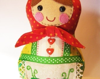 PDF Babushka Doll Pattern