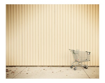 Urban Photography - Travel Photography - City Photography - Modern Wall Art - Minimalist Art - Large Art - Minimalist Decor - Shopping Cart