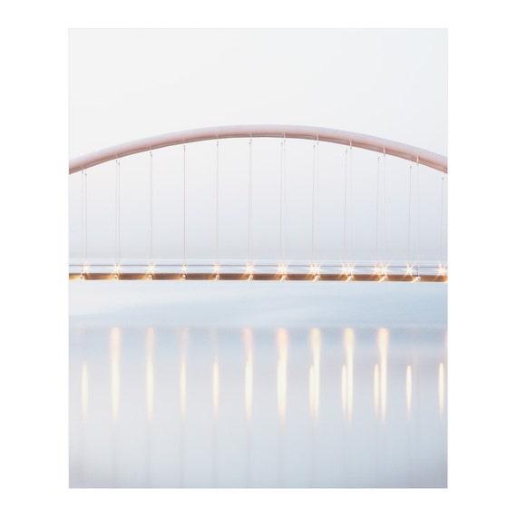 Humber Bridge - Minimal Architecture Art - Whimsy Photography - Zen Wall Art - Toronto Beach Art - Bedroom Wall Art - Lake Ontario