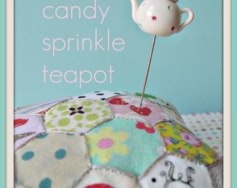 Candy Sprinkle Teapot