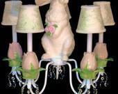 Chandelier - Garden Bunny Chandelier