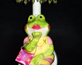 Kids Room Sconce - Fashion Frog