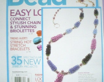 Lavender Harvest Necklace with magenta pearls
