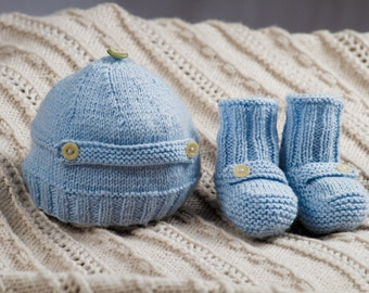 Walker Hat and Boots - Baby Cakes by lisaFdesign -  Download Now - Pattern PDF