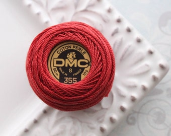 Last One - DMC 355 - Dark Terra Cotta - Perle Cotton Thread Size 8