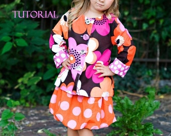Whimsy Couture Sewing Pattern for reversible girls jackets PDF 12 months through 12 girls