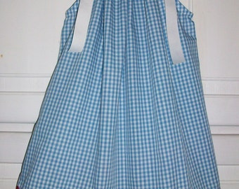 Dorothy Dress Wizard of Oz Dress Pillowcase Dress Blue Gingham Dress Oz Party Dorothy costume baby dress toddler dress girls dress