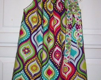 Pillowcase Dress, Summer Dresses, Girls Dresses, Colorful Dress, Birthday Dress, Whimsical Dress, Trendy Baby, Mod Style, Party Dress
