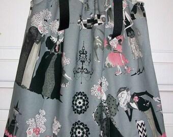 Pillowcase Dress Ghastlies Goth Dress Girls Dress Grey Dress Alexander Henry Fall dress Creepy dress baby dress toddler dress Halloween