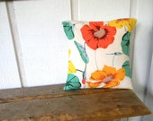 lily pads and flowers for your home pillow cover 18x18