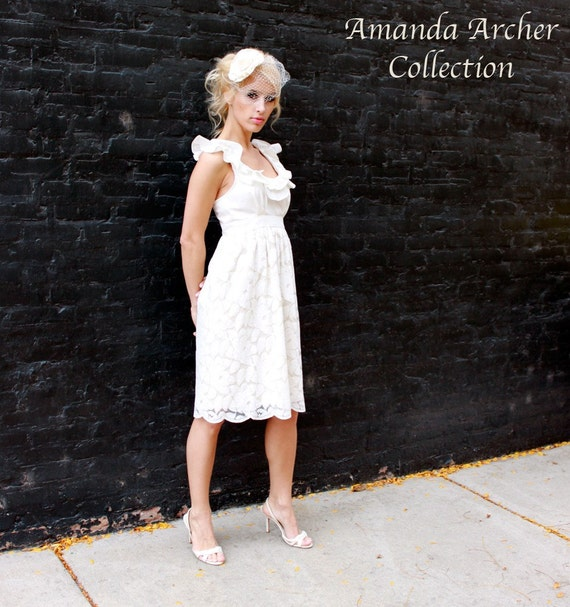 A Love Story Dress, Ivory Lace, Made-to-Order